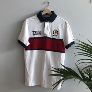Vintage Tommy Hilfiger White Polo